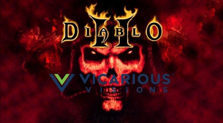 Imagen de Diablo II Remake sería real, y con Vicarous Visions tras su desarrollo