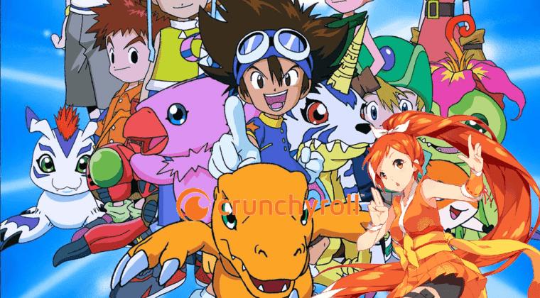 Imagen de El anime original de Digimon llega completo a Crunchyroll