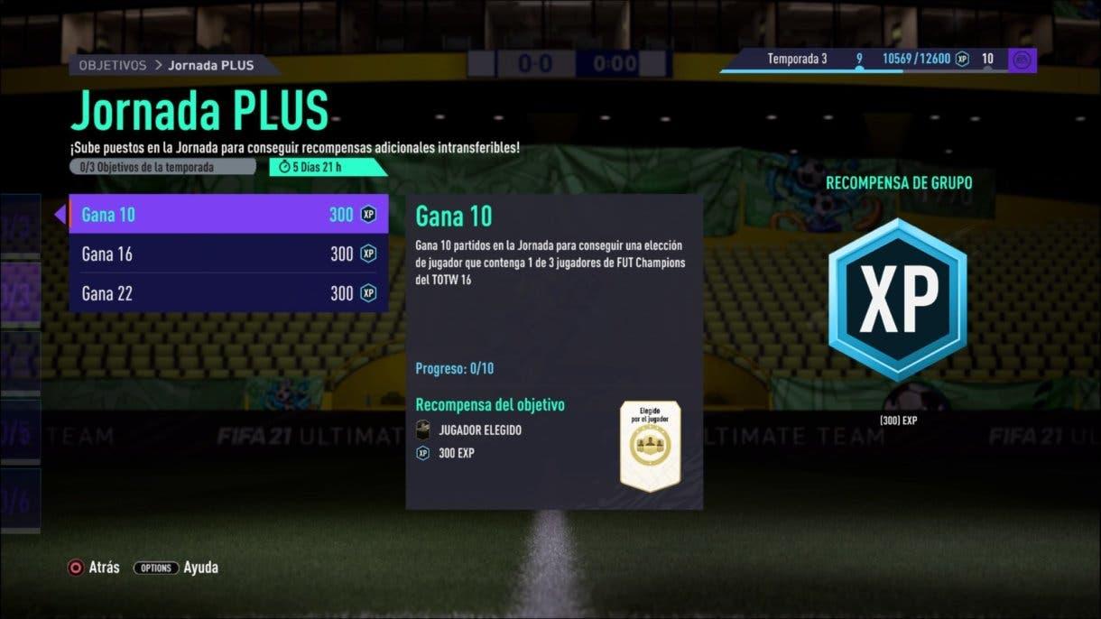 FIFA 21 Ultimate Team player picks FUT Champions.