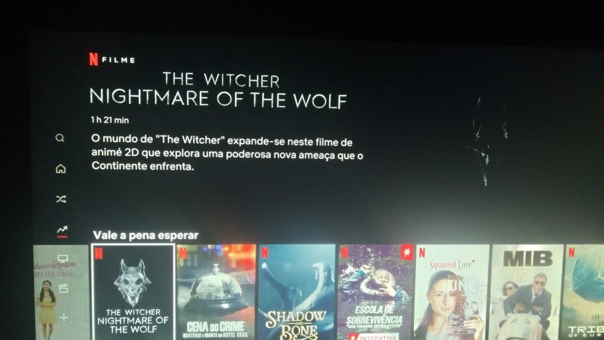 La película de The Witcher ya aparece como una de las próximas novedades de Netflix en Portugal