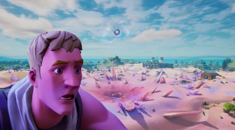 Imagen de Fortnite presenta un nuevo bug que te permite volar gracias al túnel de arena