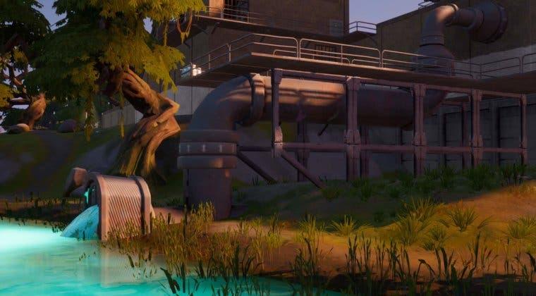 Imagen de Fortnite: Visita casas en Pantano Pegajoso en una sola partida
