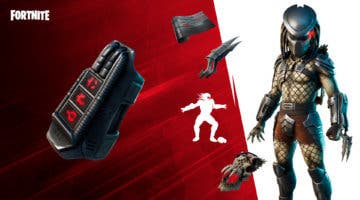 Imagen de Fortnite: Inflige daño con tecnología térmica activa como Depredador