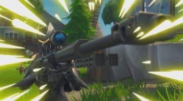 Imagen de Un jugador de Fortnite logra viajar subido en una bala de francotirador