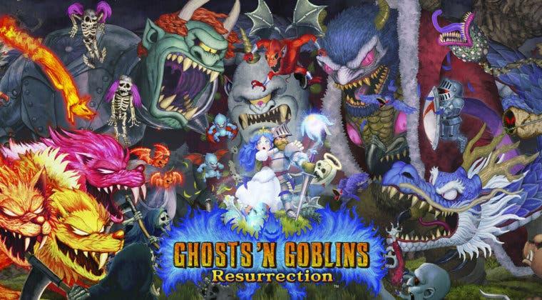 Imagen de Ghosts 'n Goblins Resurrection luce en vídeo su segundo diario de desarrollo