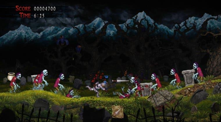 Imagen de Ghosts 'n Goblins Resurrection celebra la apertura de reservas con un nuevo tráiler
