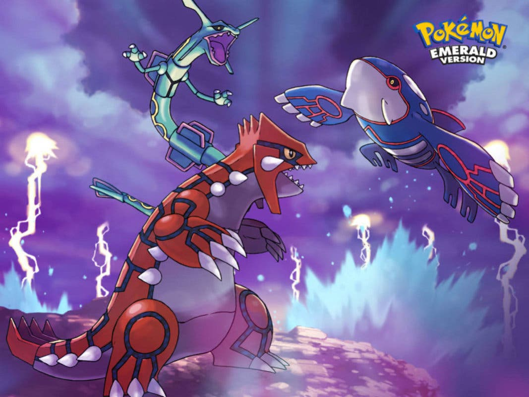 Groudon Kyogre Rayquaza Pokemon