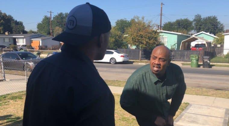 Imagen de Los actores de voz de Lamar y Franklin recrean su escena más icónica de GTA V