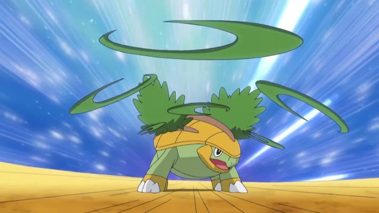 Hoja Afilada Grotle Pokemon