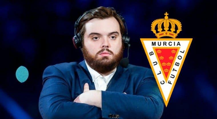 """Imagen de """"Creo que voy a comprar el Real Murcia""""; Ibai podría convertirse en presidente de un equipo de fútbol"""