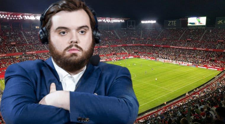 Imagen de Así sonaba la canción de Ibai en el partido del Sevilla - Valencia
