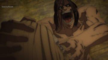 Imagen de Ataque a los Titanes: Así de salvaje ha sido Eren consumiendo el titán Martillo de Guerra en anime