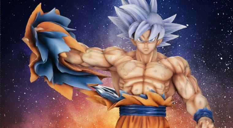 Imagen de Dragon Ball Super: Así es la increíble figura de Goku Ultra Instinto Dominado (contra Moro)