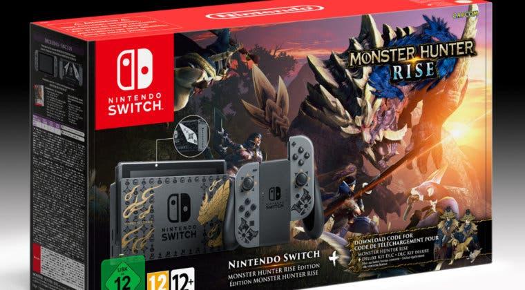 Imagen de Así es la increíble Nintendo Switch edición Monster Hunter Rise y su contenido