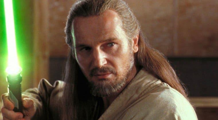 Imagen de Star Wars: El preciado objeto que Liam Neeson guarda del rodaje de La Amenaza Fantasma