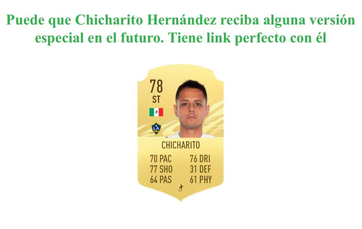 FIFA 21 Ultimate Team Jonathan dos Santos Moments link perfecto
