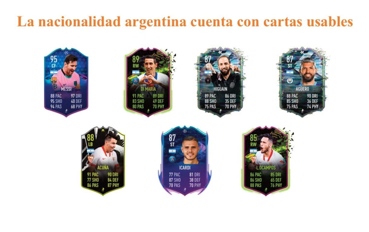 FIFA 21 Ultimate Team Paulo Dybala Moments links naranjas