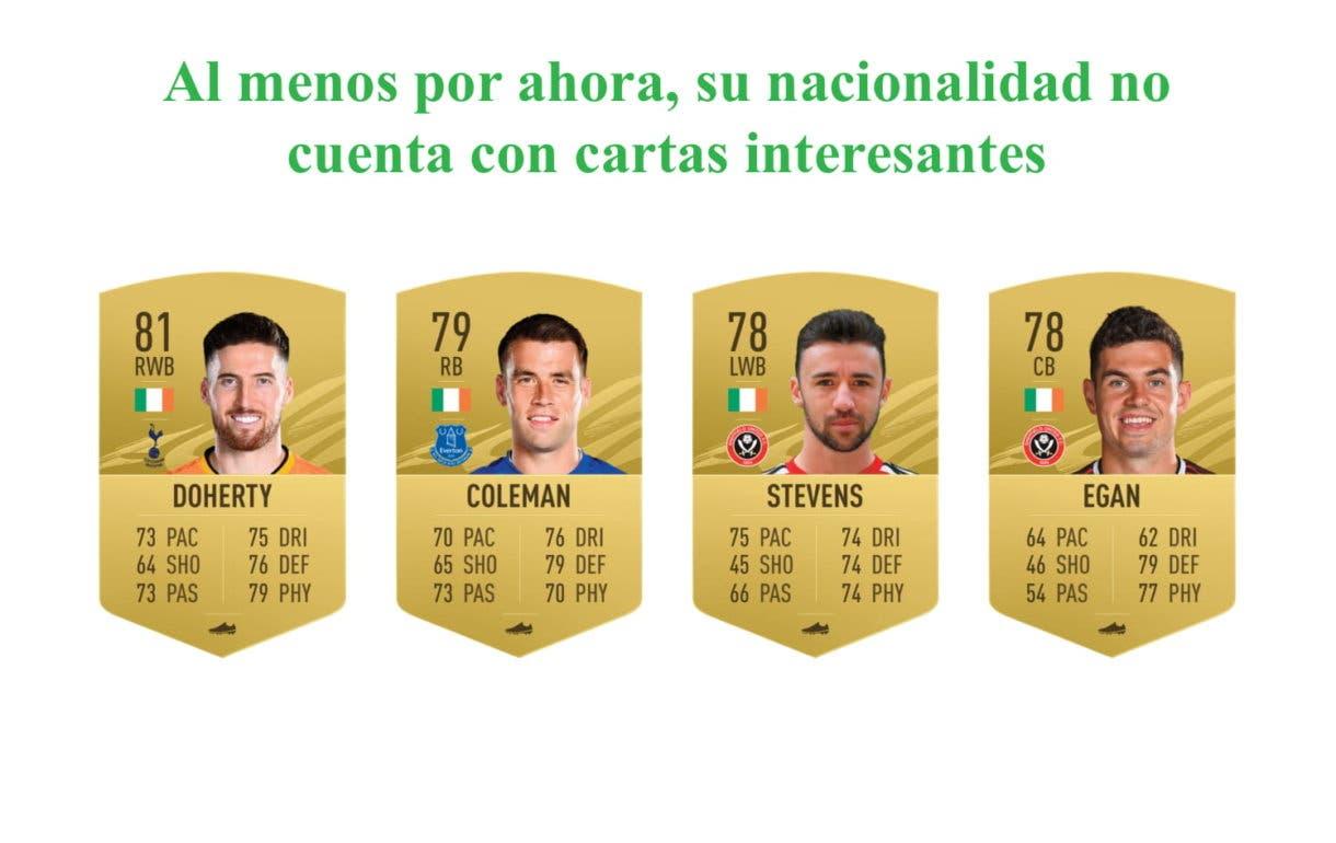 FIFA 21 Ultimate Team. Links verdes Roy Keane Icono SBC
