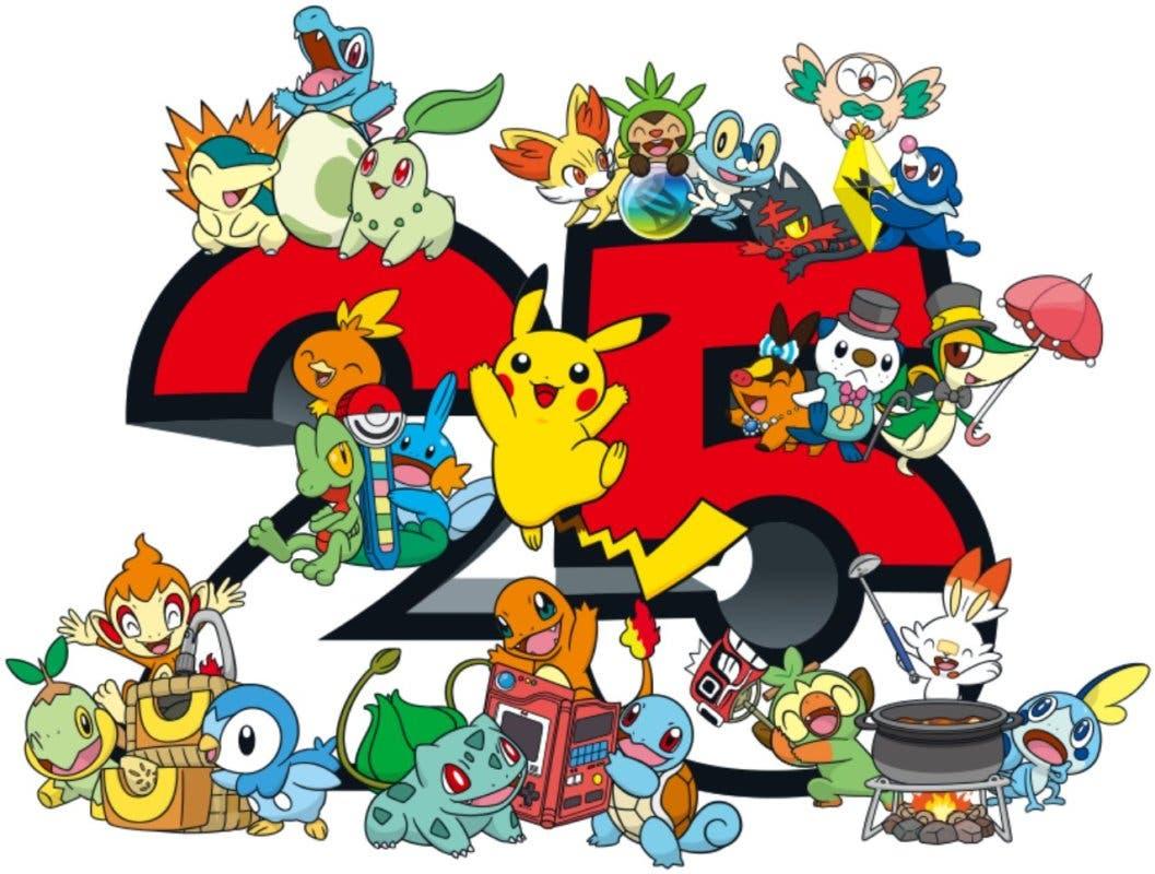 Logo Pokemon 25 aniversario