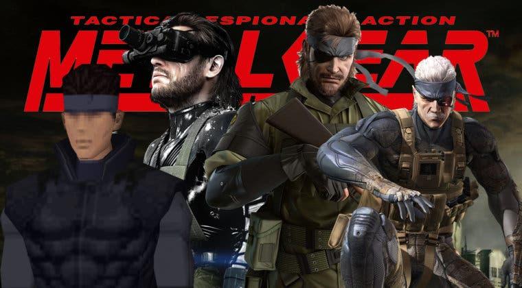 Imagen de Ordenamos de peor a mejor todos los juegos de Metal Gear Solid