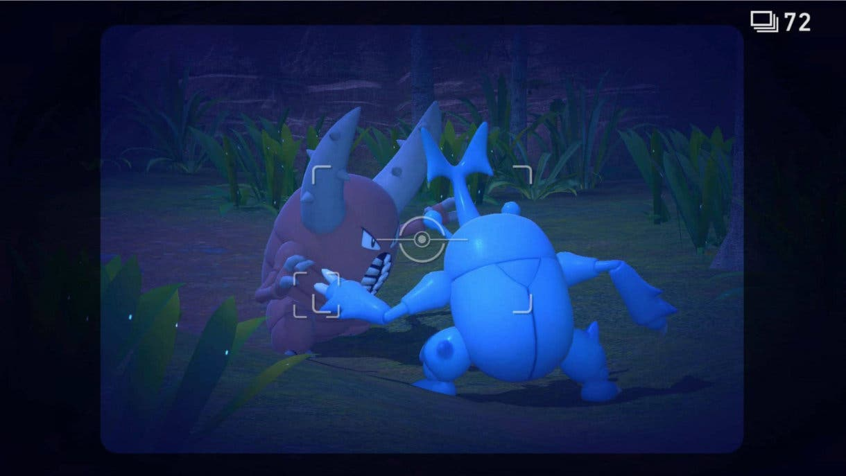 New Pokemon Snap Pinsir Heracross