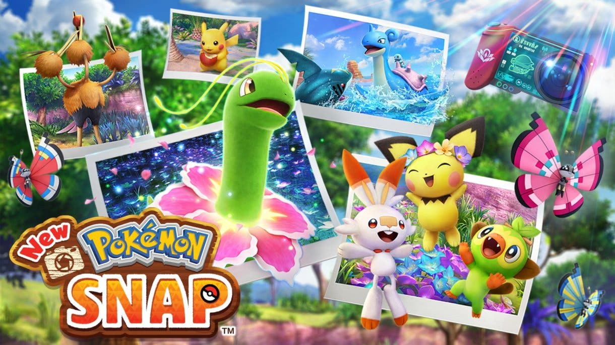 New Pokemon Snap portada