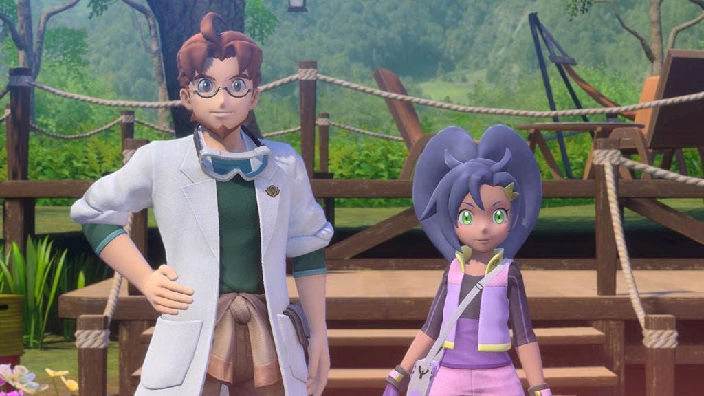 New Pokemon Snap Profesor Espejo y Rita