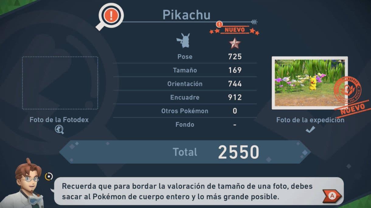 New Pokemon Snap valoracion foto