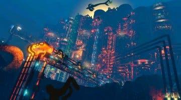 Imagen de Así de espectacular luce la ciudad de Rapture dentro de No Man's Sky