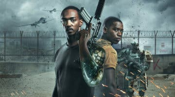Imagen de Crítica de A Descubierto: Anthony Mackie es un cyborg en este thriller de ciencia ficción de Netflix