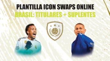 Imagen de FIFA 21 Icon Swaps: plantilla de Brasil para conseguir el token online. Once barato y competitivo + revulsivos