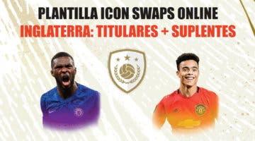Imagen de FIFA 21 Icon Swaps: plantilla de Inglaterra para conseguir el token online. Once barato y competitivo + revulsivos