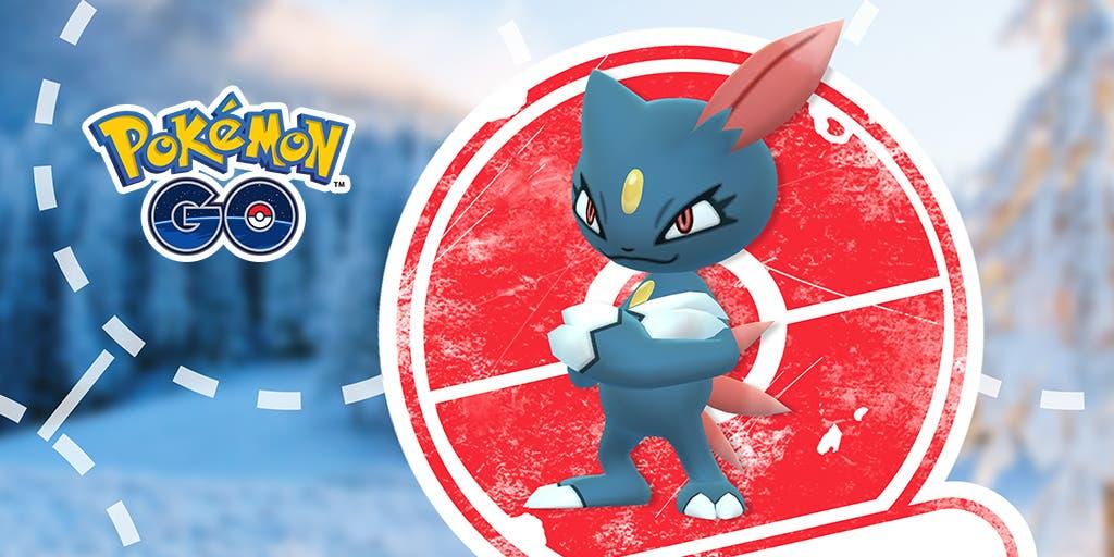 Pokemon GO Sneasel investigacion limitada