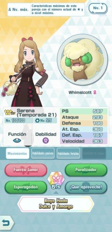 Pokemon Masters EX reclutamiento Serena 1