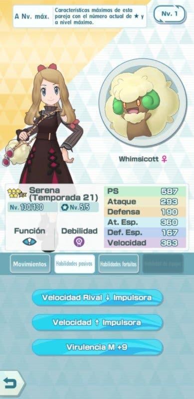 Pokemon Masters EX reclutamiento Serena 2