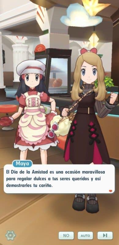Pokemon Masters EX San Valentin Serena y Maya 1