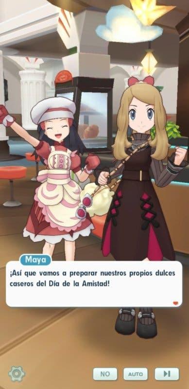 Pokemon Masters EX San Valentin Serena y Maya 2