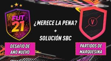 """Imagen de FIFA 21: ¿Merecen la pena los SBC's """"Desafío de Año Nuevo"""" y """"Partidos de Marquesina"""" 31-12-2020?"""