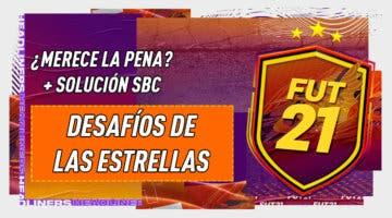 """Imagen de FIFA 21: ¿Merece la pena el SBC """"Desafío de las estrellas"""" 05-01-2021?"""