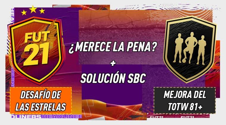 """Imagen de FIFA 21: ¿Merecen la pena los SBC's """"Desafío de las estrellas"""" 09-01-2021 y """"Mejora del TOTW 81+""""?"""