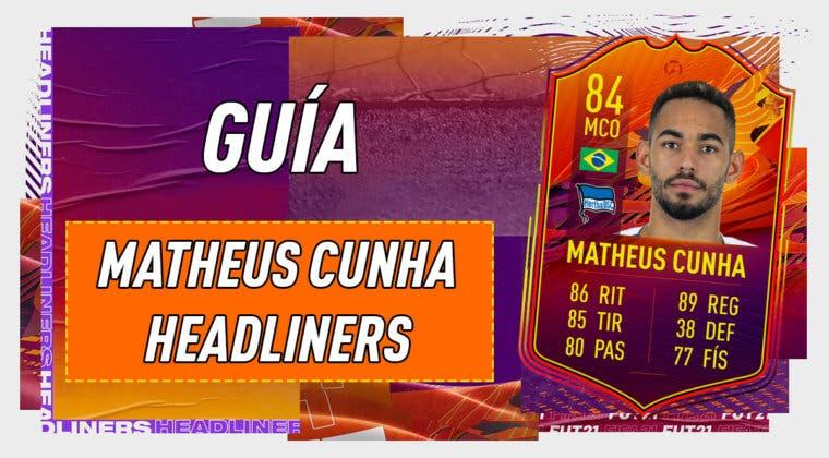 Imagen de FIFA 21: guía para conseguir a Matheus Cunha Headliners