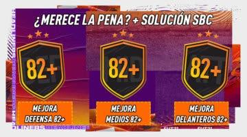 Imagen de FIFA 21: ¿Merecen la pena los SBC's de mejoras de posición 82+ y el Desafío de las estrellas 17-01-2021?