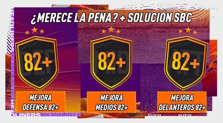 Imagen de FIFA 21: ¿Merecen la pena los SBC's de mejoras de posición 82+?
