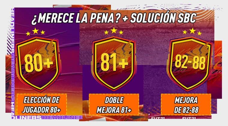 """Imagen de FIFA 21: ¿Merecen la pena los SBC's """"Elección de jugador 80+"""", """"Doble mejora 81+"""" y """"Mejora de 82-88""""?"""