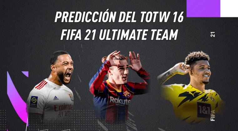 Imagen de FIFA 21: predicción del Equipo de la Semana (TOTW) 16