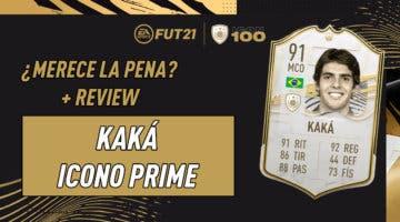 Imagen de FIFA 21: ¿Merece la pena Kaká Prime? Review del Icono SBC