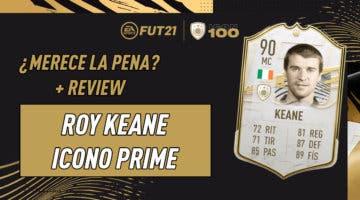 Imagen de FIFA 21: ¿Merece la pena Roy Keane Prime? Review del Icono SBC