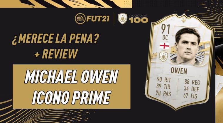 Imagen de FIFA 21: ¿Merece la pena Michael Owen Prime? Review del Icono SBC
