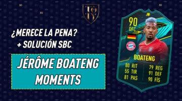 Imagen de FIFA 21: ¿Merece la pena Jérôme Boateng Moments? + Solución de su SBC