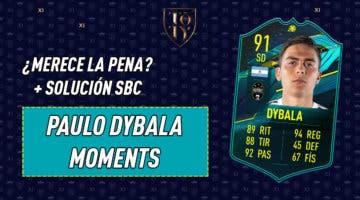 Imagen de FIFA 21: ¿Merece la pena Paulo Dybala Moments? + Solución del SBC